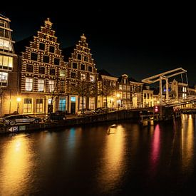 Haarlem snachts van Johan Honders