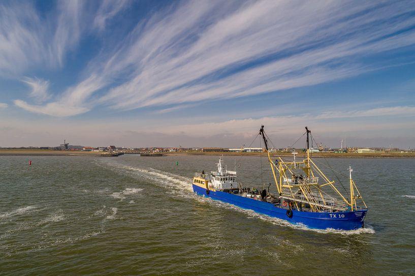 TX 10 garnalen kotter Texel Oudeschild van Texel360Fotografie Richard Heerschap