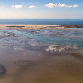 La mer des Wadden à sec à Vlieland  sur Roel Ovinge