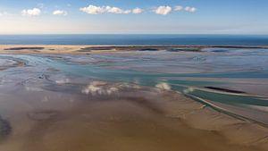 La mer des Wadden à sec à Vlieland  sur