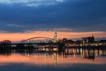 Deventer skyline van Diana Boersma