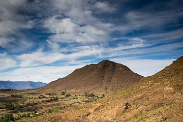 Bergiges Gebiet in Südafrika von Marcel Alsemgeest