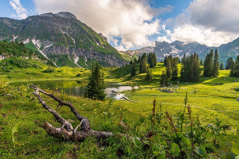 Körbersee dans le Lechquellengebirge sur MindScape Photography