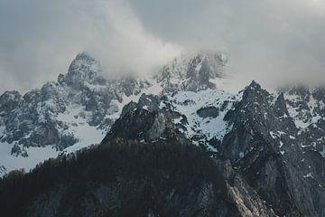 Avond in de Alpen van Paulien van der Werf