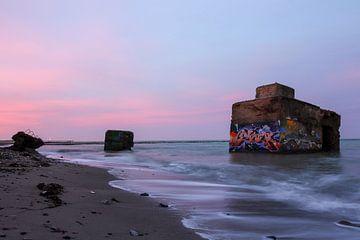 Alte Bunker an der Ostsee, Wustrow von Stephan Schulz