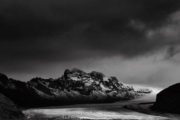 Gletsjer in IJsland - Eyjafjallajökull von RUUDC Fotografie