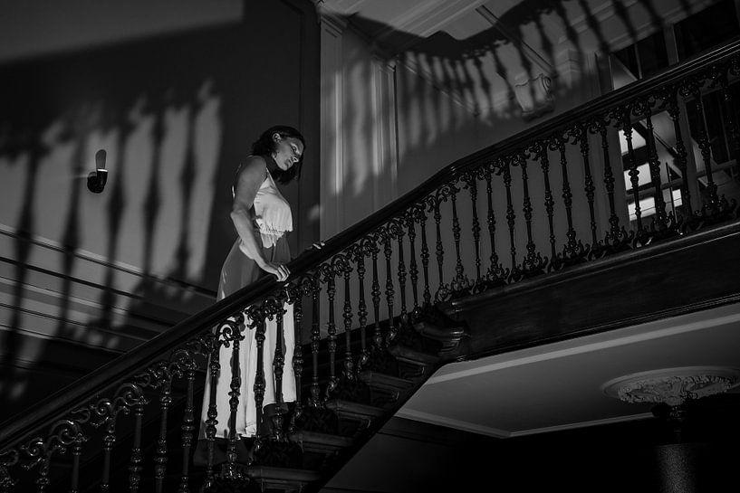 The staircase.. van Reginald Kluijtmans