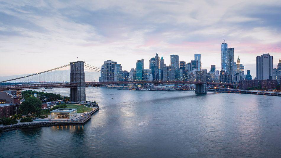New York City Lights van Dennis Wierenga
