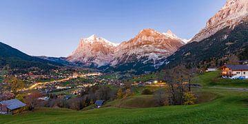 Grindelwald in der Schweiz von Werner Dieterich
