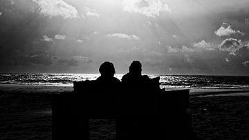 Genieten van zon, zee en strand von Wijnand Medendorp