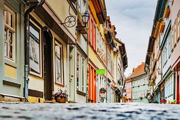 Le pont des commerçants d'Erfurt sur Gunter Kirsch