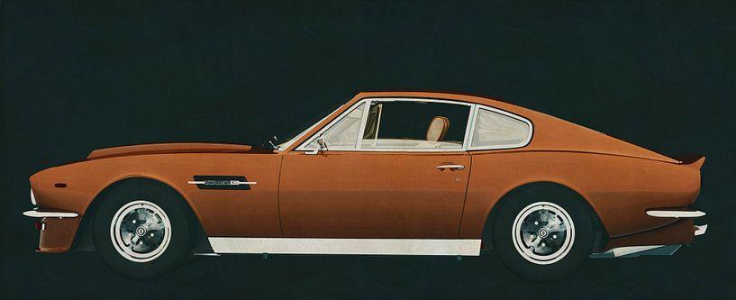 Aston Martin Vantage 1977 van Jan Keteleer