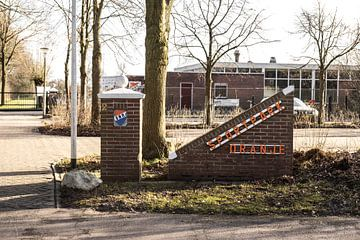 Zugang Sportpark Oranje von Over de Bal
