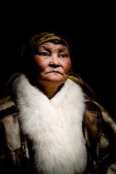 Porträt einer Nenet-Frau von Milene van Arendonk