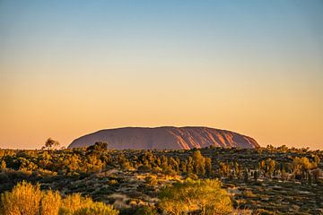 Uluru (Ayers Rock) van Ruben Swart