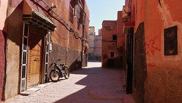 Oude fiets in Marrakech