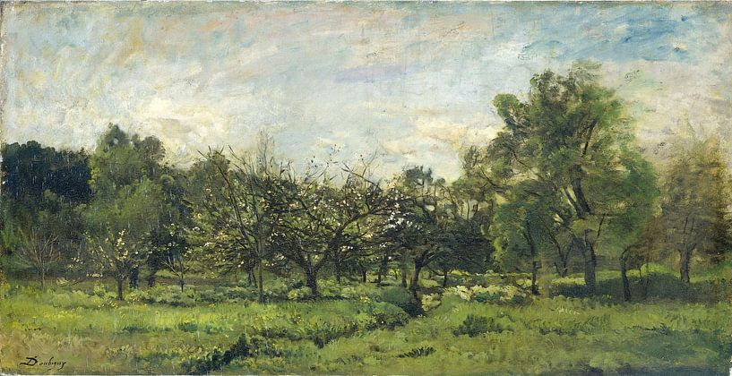 Obstgarten, Charles-François Daubigny von Meesterlijcke Meesters