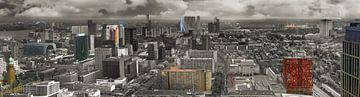 Panorama van Rotterdam van Fred Leeflang