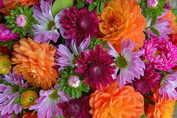 bloemenboeket van Bert Bouwmeester