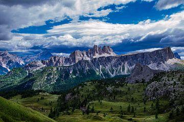 Gebirge landschaft Sud-Tirol von Fred van Bergeijk