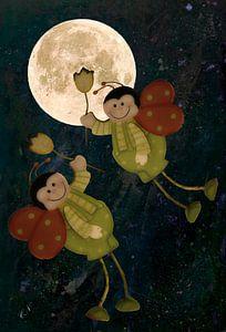 Vlucht naar de maan