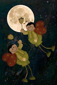 Vlucht naar de maan van Christine Nöhmeier