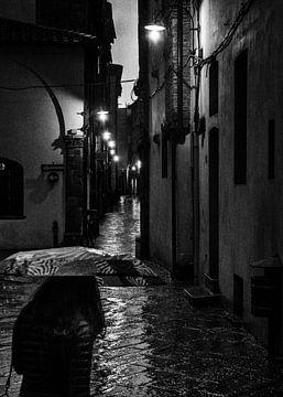 Regen in Lucca Toscane