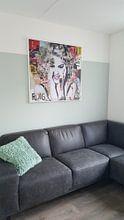 Photo de nos clients: Lady Madonna sur Michiel Folkers, sur toile