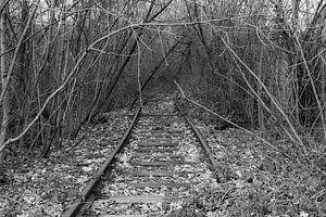 Bahnlinie außer Betrieb