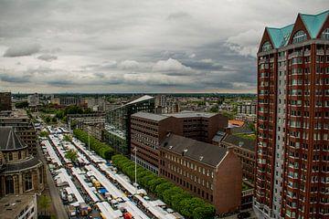 Markt Rotterdam van Ton de Koning