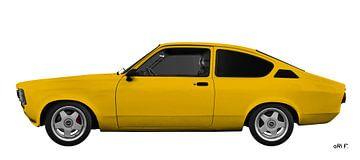 Opel Kadett C Rallye Coupé in Originalfarbe