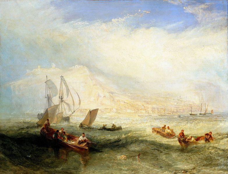 William Turner. Line Fishing Off Hastings van 1000 Schilderijen