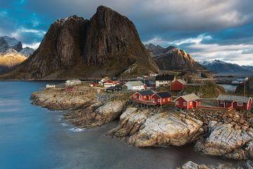 Hamnoy Lofoten Noorwegen von Dion van den Boom