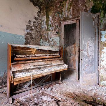 Verlassenes Klavier in starker Verwesung. von Roman Robroek