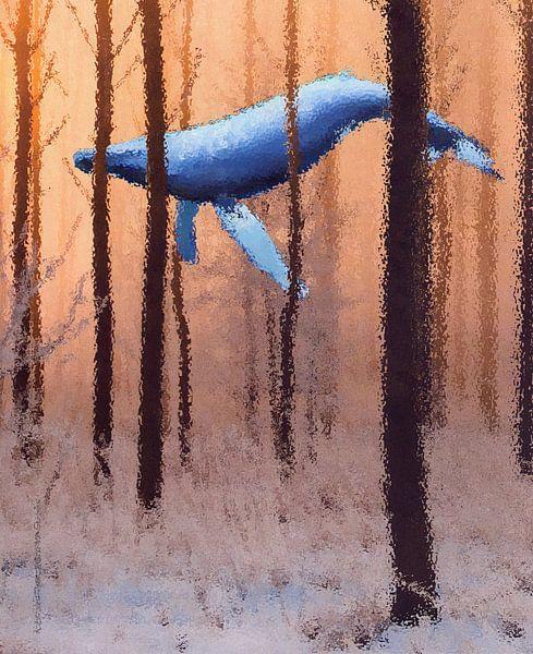 Winterwhale van Terra- Creative