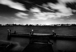 Kralingse plas Rotterdam van