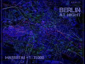 Berlijn bij nacht van christine b-b müller