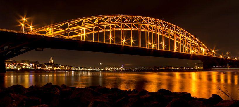 Nijmegen city light van Julien Beyrath