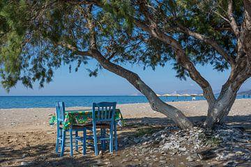 Votsalakia-Strand von Rinus Lasschuyt Fotografie