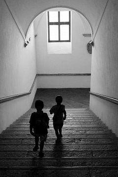 Richting het licht. von Maren Oude Essink