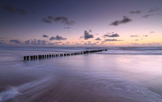 Aan de kust van Ron de Vries