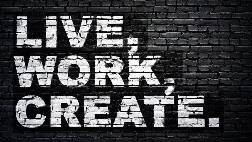 Live, work, create von Günter Albers
