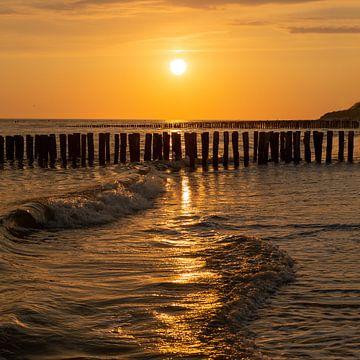 Summer sunset van StrandArt.nl
