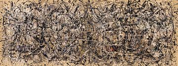 Lyrische abstractie van Jerome Coppo