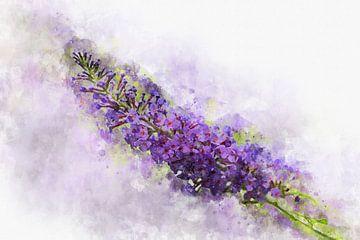 Bloemen 8 van Silvia Creemers