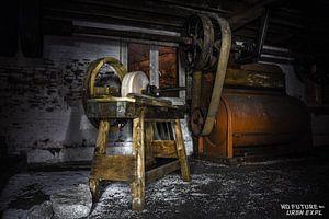 alte Schleifmaschine