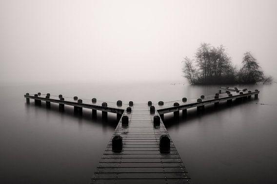 Misty morning van Georgios Kossieris