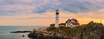 Portland-Scheinwerfer, Maine von Henk Meijer Photography