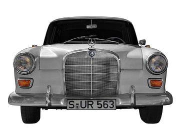 Mercedes-Benz 190/200 staartvin van aRi F. Huber
