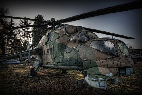 MIL MI-24 HIND gevechtshelicopter